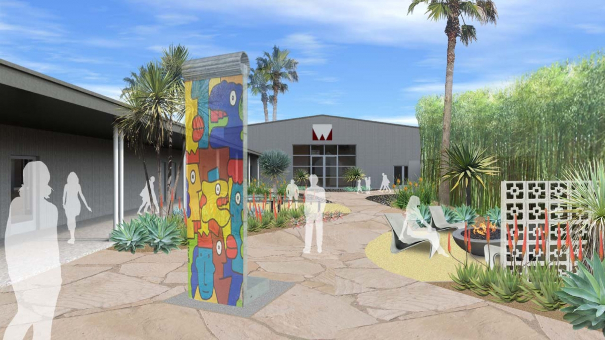 Sculpture Garden Rendering